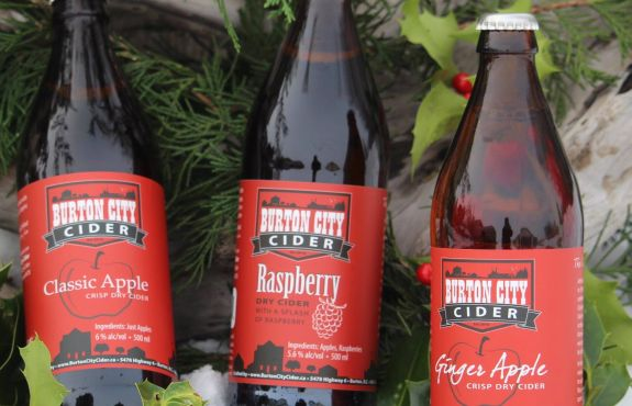 Burton City Cider - the sweet part of Arrow Lakes