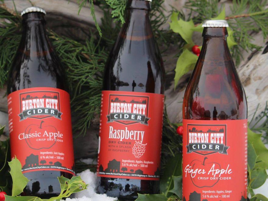 Burton City Cider - the sweet part of Arrow Lakes