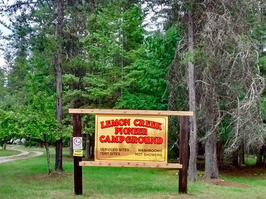 Lemon Creek Pioneer Campground